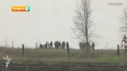 Ukrainian Government Forces Outside Slovyansk