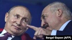 Ռուսաստանի նախագահ Վլադիմիր Պուտին և Բելառուսի նախագահ Ալեքսանդր Լուկաշենկո, արխիվ