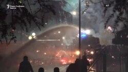 Насилни протести во Тирана