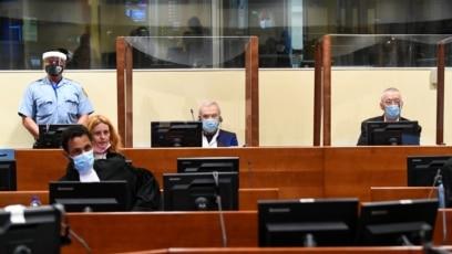 Stanišić i Simatović na izricanju prvostepene presude u Hagu, 30. jun 2021.