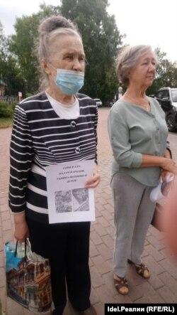 Репрессированная Нина Роговцева. У неё была раскулачена вся семья