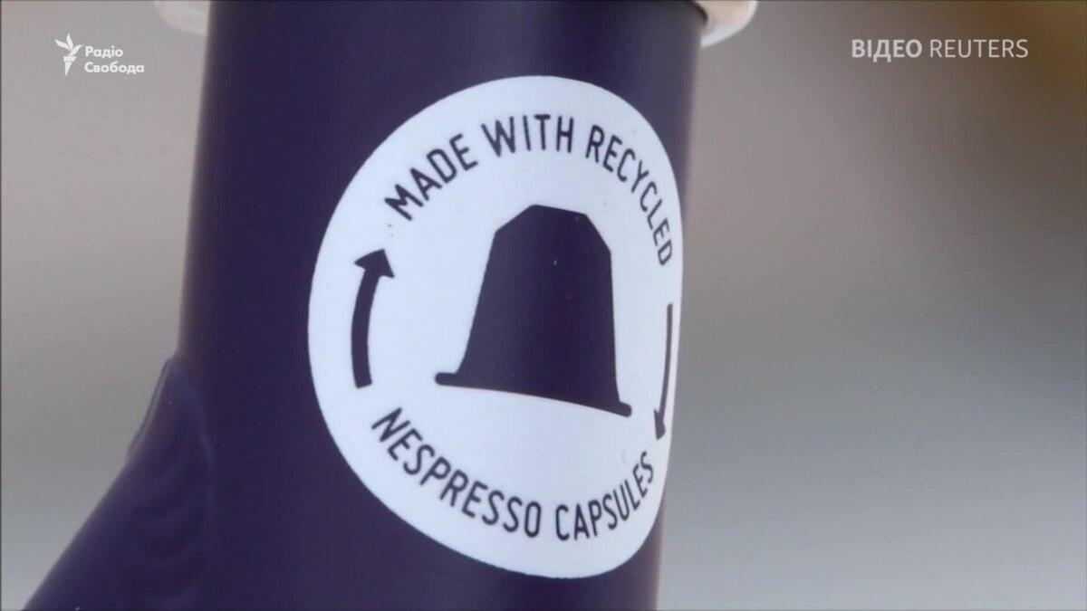 Велосипеды из кофейных капсул – видео