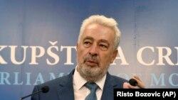 """Архивска фотографија- Здравко Кривокапиќ носител на листата """"За иднината на Црна Гора"""""""