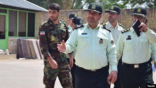 حیدر عباسزاده فرمانده نیروی انتظامی خوزستان