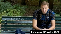 Russian opposition figure Aleksei Navalny