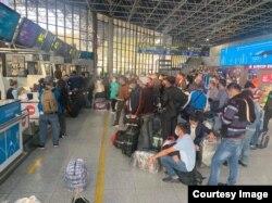 Ўзбекистонликлар Россиянинг Сочи аэропорти орқали олиб кетилди