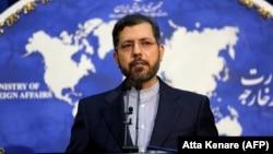 Iranian Foreign Ministry spokesman Saeed Khatibzadeh (file photo)