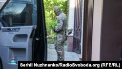 Percheziție în locuința lui Victor Medvedciuk din Kiev, 11 mai 2021