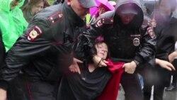 Неожиданно жесткие задержания в Екатеринбурге