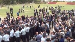 Milli Şuranın Sabirabaddakı mitinqi qarşıdurma ilə başladı, qarşıdurma ilə bitdi