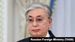 Qazaxıstanın Prezidenti Kassım-Jomart Tokayev, arxiv foto