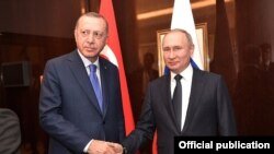 Реджеп Эрдоган и Владимир Путин