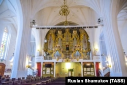 Самый большой в Европе орган в Кёнигсбергском Кафедральном соборе.