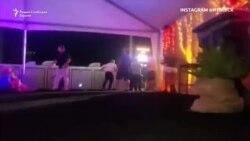 """""""Тие само пукаа и пукаа"""" - видео снимка од пукањето во Лас Вегас"""