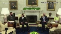 Встреча Зеленского и Байдена: о чем говорили в Белом доме (видео)