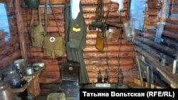 "Музей ""Невский пятачок"", фрагмент экспозиции"