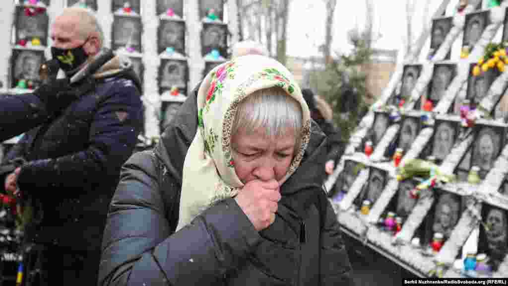 18 лютого 2014 року працівники тодішньої міліції, діючи за вказівками вищого керівництва, спільно з так званими «тітушками», грубо порушуючи чинне законодавство, застосовували насильство, використовуючи і вогнепальну зброю. Вони здійснили жорстокий силовий розгін ходи. В результаті зіткнень 18 лютого загинуло 18 активістів, 500 – були поранені
