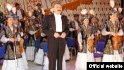 Казахский государственный оркестр народных инструментов имени Курмангазы. Иллюстративное фото.