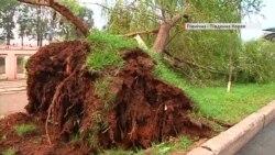 Відразу два потужні тайфуни лютують в Азії – відео