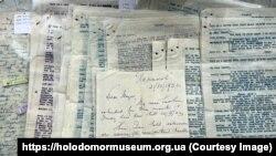 Листи передала музею британка Алісон Маршал