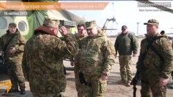 Олександр Турчинов перевірив готовність оборонних рубежів у зоні АТО