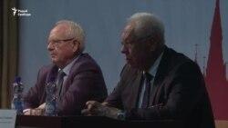 Падазраваныя ў ваенных злачынствах у Літве выступілі ў Менску