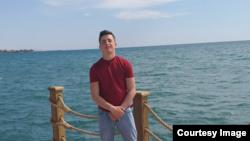 19-летний Шохжахон Хомидов в турецком городе Манавгат.