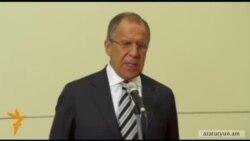 Լավրով․ Ղարաբաղը ԵՏՄ-ին Հայաստանի անդամակցության հետ կապ չունի