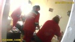 На плач дітей у зачиненій квартирі в Черкасах зреагували – допомоги потребувала матір (відео)