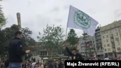 Protest udruženja IRKA u Beogradu (4. maj 2019.)