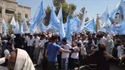 باشندهگان کندهار به حمایت از تلاشهای صلح تظاهرات انجام دادند