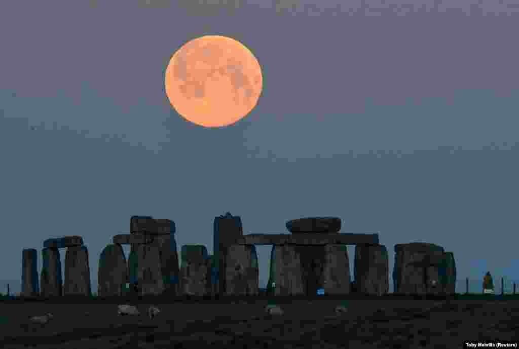 A Stonehenge felett.
