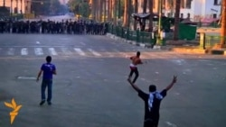 Police Fire Tear Gas As Protests Continue In Cairo