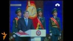 Алмазбек Атамбаев ант берди