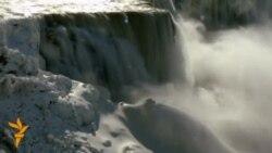 Полярний вихор завис над Ніагарським водоспадом