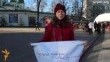 Крымские переселенцы против транспортной блокады