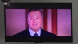 Янукович відмовився брати участь у судовому процесі щодо державної зради (відео)