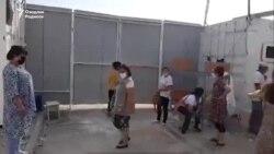 В карантинной зоне «Уртасарай» произошел бунт