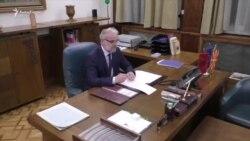 Talat Xhaferi merr kabinetin e kryeparlamentarit të Maqedonisë