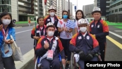 Токио Паралимпиадасынын ачылыш аземине даярдык. 24-август, 2021-ж.