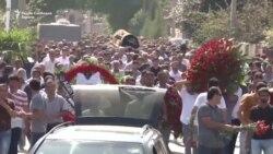 ТВ вести: Како се погребува мафијаш во Азербејџан
