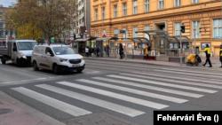 Bécsi utcakép a lezárások idején, 2020. november 17.