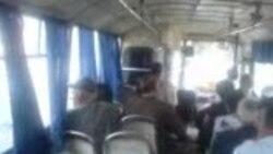 Gəncə günləri keçirən Gəncənin 11 nömrəli avtobusu