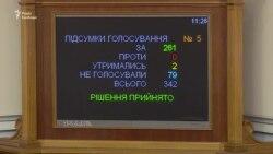 «Це Україна сьогодні потрібна ЄС»: Рада закликала Євросоюз надати безвіз (відео)