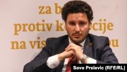 Potpredsjednik Vlade Crne Gore Dritan Abazović