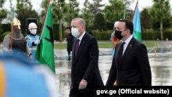 Реджеп Тайип Эрдоган и Ираклий Гарибашвили