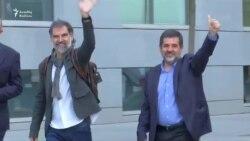 Kataloniyanın iki separatçı lideri həbs olundu