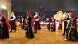 Праздник в канун Старого Нового года в Севастополе (видео)