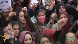 24.03.2015 Протести во Кабул, годишнина од револуцијата во Бишкек