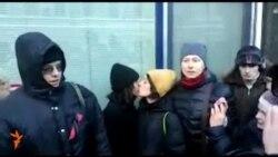 Столкновения ЛГБТ-активистов, их противников и полиции у Государственной Думы